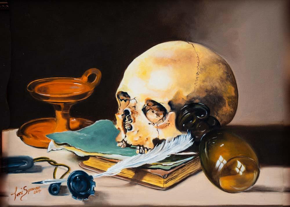 Replica of Dutch Painter Peter Claesz