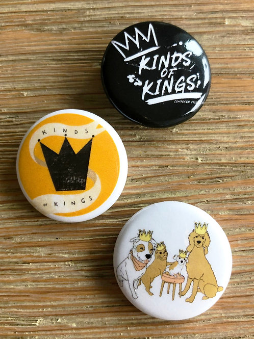 Kinds of Kings button trio