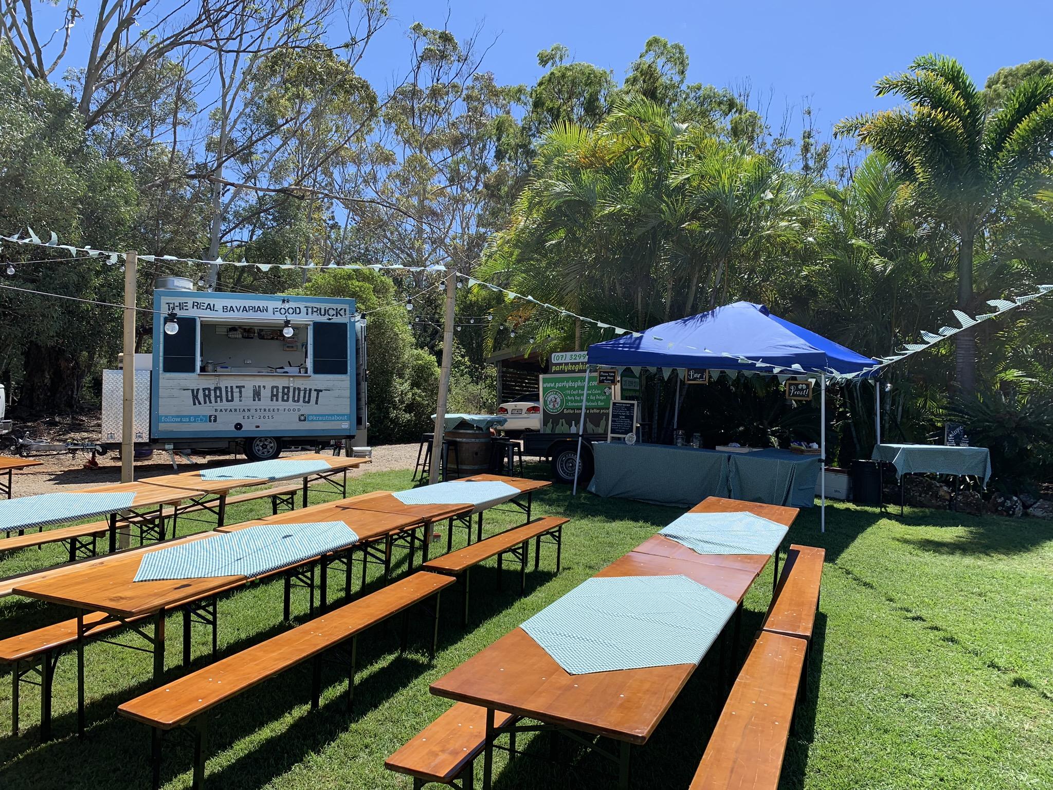 Outdoor beerfest