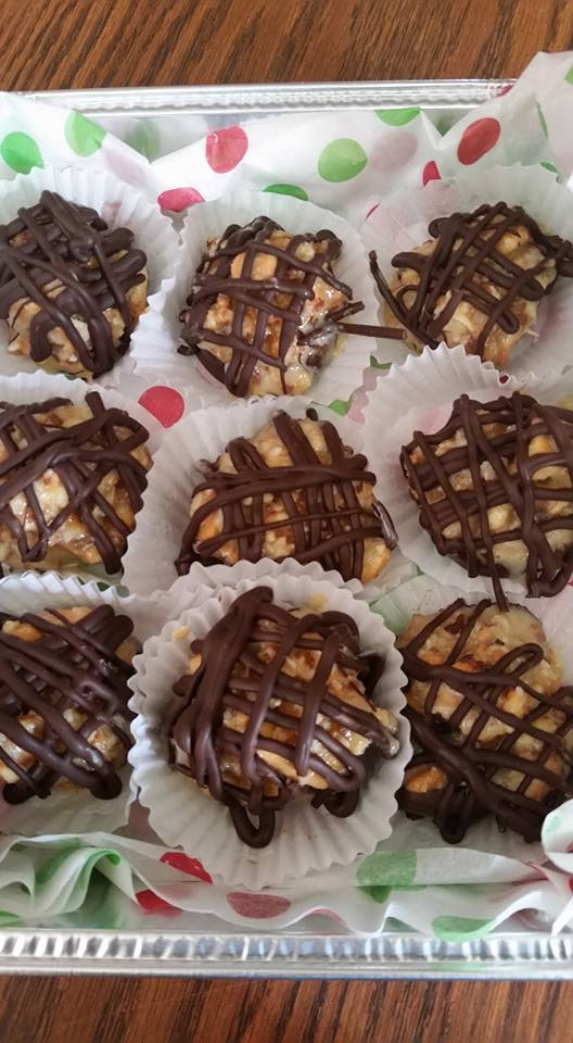 Samoa truffles and Maple Walnut Truffles