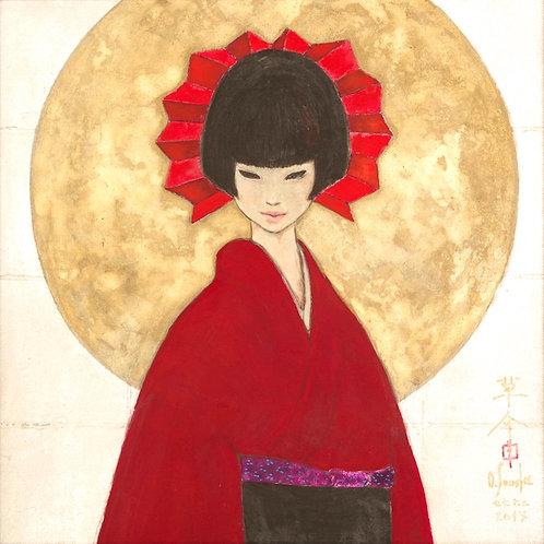 Japanese Paintings [AKANE] 肉筆日本画 「あかね」