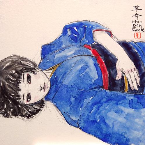 Drawing [267703_08]  素描画 「管理番号drawing267703_08」