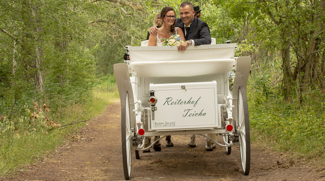 Hochzeitskutschen Reiterhof Teicha