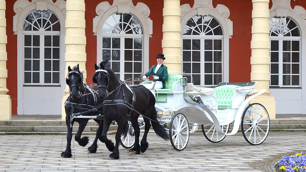 Kutschen vom Reiterhof Teicha