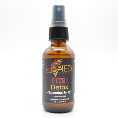 Elevated Pits Detox Balancing Spray