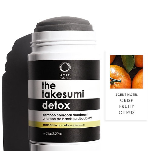Charcoal Deodorant Mandarin Pomelo