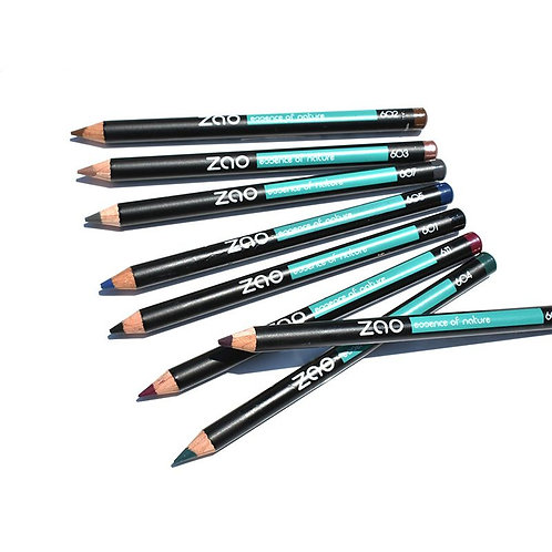 Zao Multipurpose Pencil - Eyes, Brows, Lips