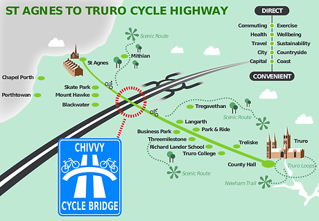 Cycle Highway map with bridge graphic.pn