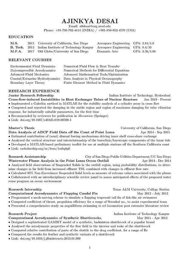 Curriculum Vitae_Ajinkya Desai_MS_UCSD-p