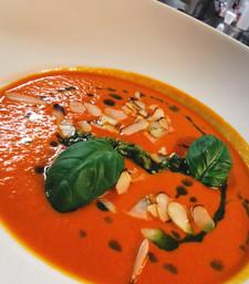 Krem z włoskich pomidorów