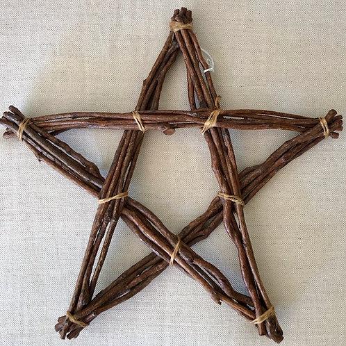 Rustic Handmade Twig Star