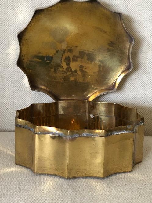 Petite Brass Box