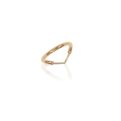 Lambda Ring | 18k gold