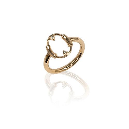 Dynamis Ring | 18k gold