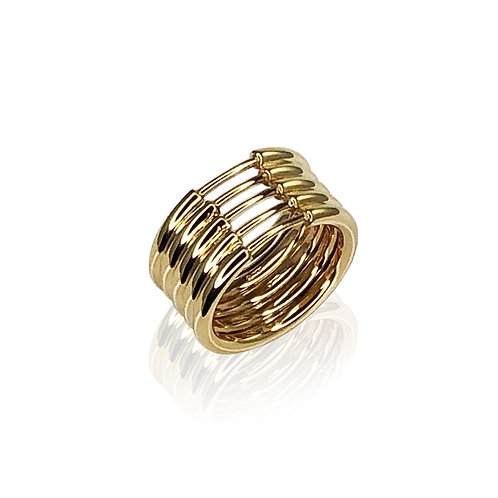 MultiHyphenate V Ring | 18k gold