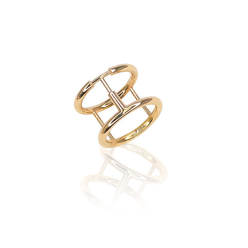 Tav Ring | 18k gold