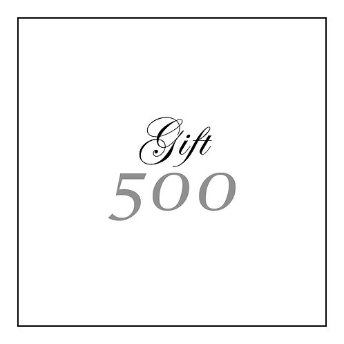 GIFT CARD | 500