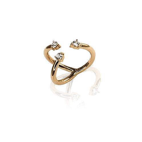 Trinitas D. Ring | 18k gold