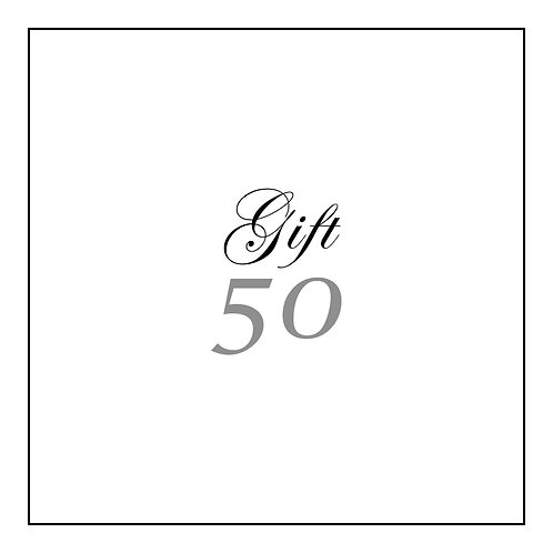 GIFT CARD | 50