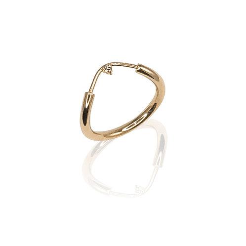 Crest Ring | 18k gold