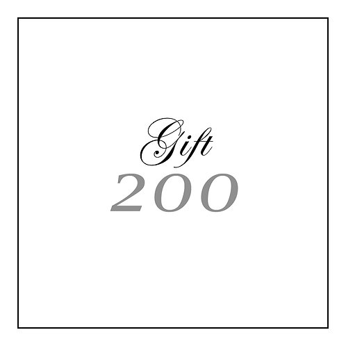 GIFT CARD | 200