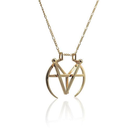 Monogram Medallion | 18k gold