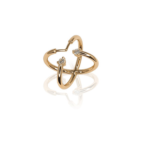 Ignis Ring | 18k gold