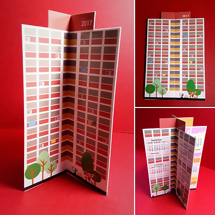 Point Block Flats Calendar