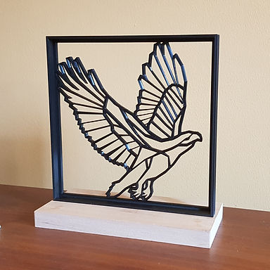 Eagle (in black with frame)