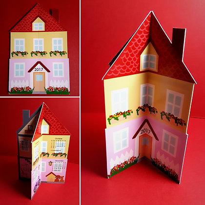 Double-storey House Calendar