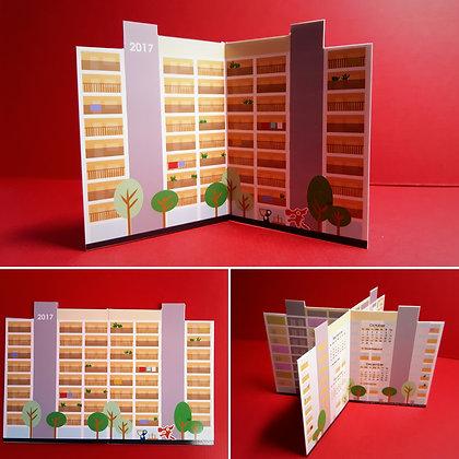 Block of Flats Calendar