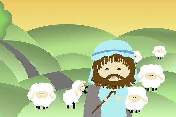 Shepherd & the Lamb