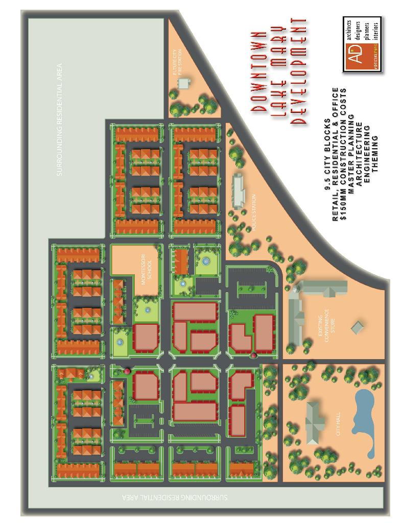 Downtown Lake Mary Master Plan