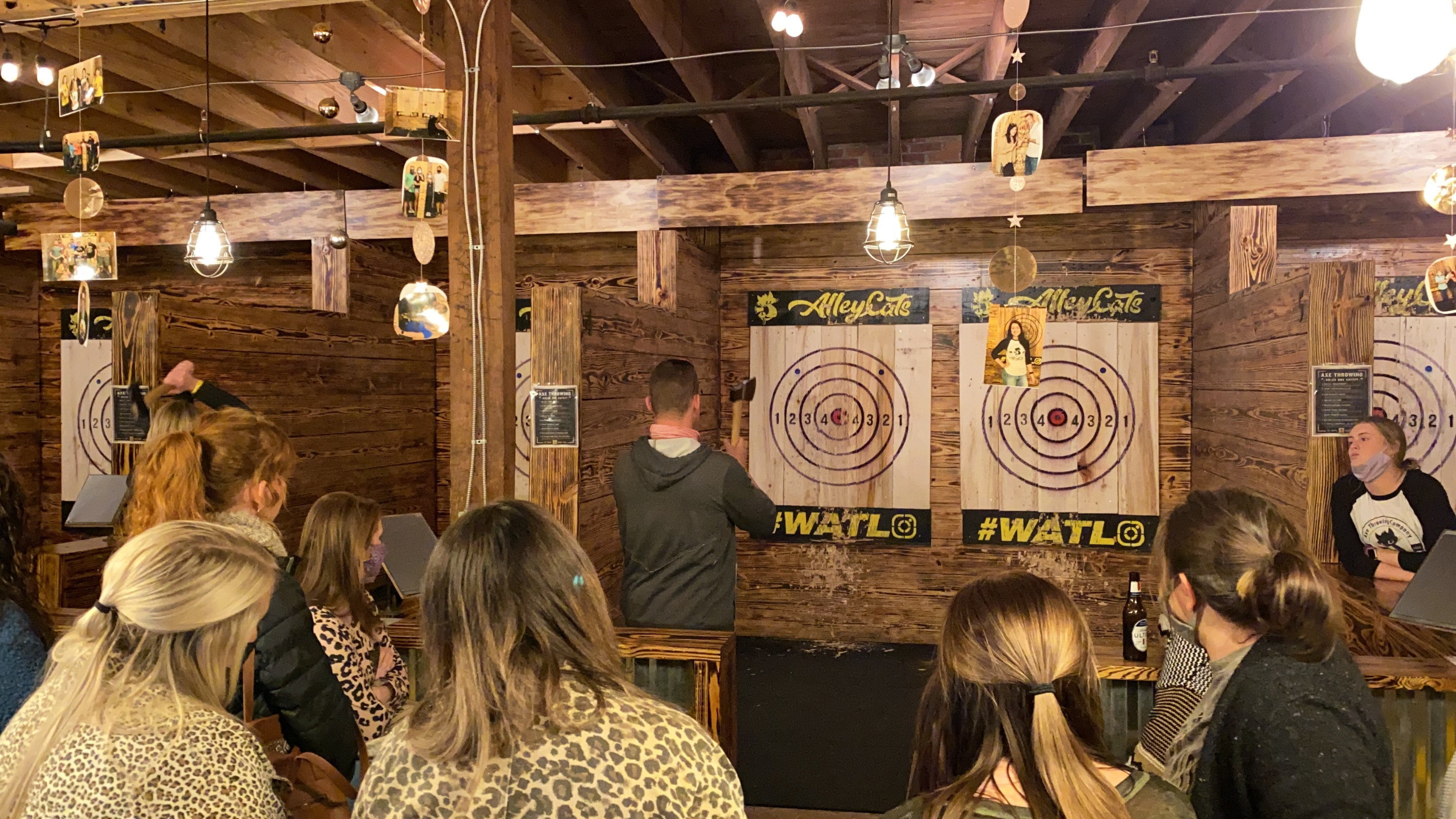 One Hour of Axe Throwing