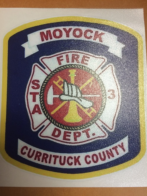 Moyock FD Decal