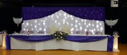 Twinkle light backdrop_Head table decor 1_The Atrium Nottingham
