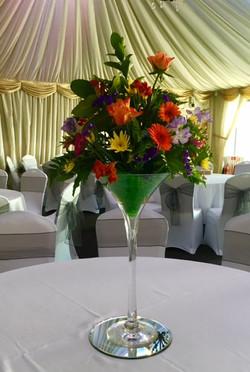 Floral centrepiece - Midland Mandaps Ltd 3