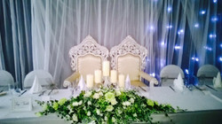 Bride & Groom wedding Thrones