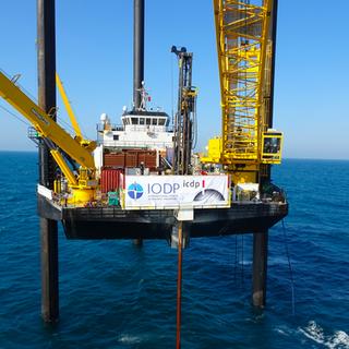 Expedition 364 Chicxulub Drilling Mission Specific Platform (MSP) L/B Myrtle