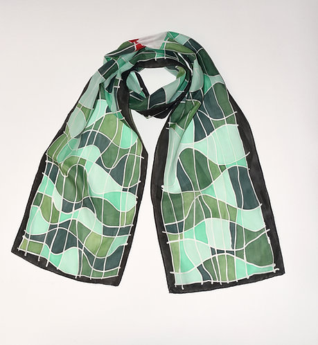 Camouflage Wave Scarf