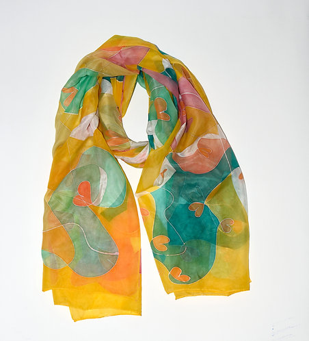 Field of Hearts Scarf