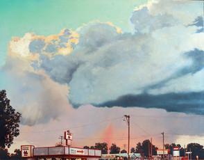 Storm Over Crown Burger