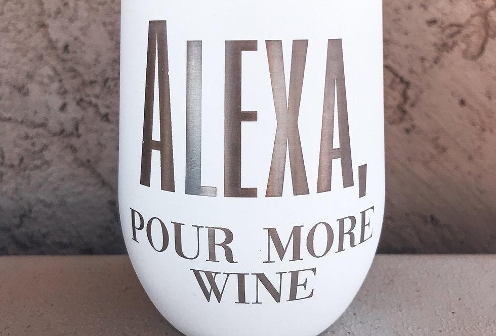 Alexa, pour more wine