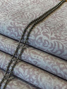 Peony & Sage India Old Silk on stone linen
