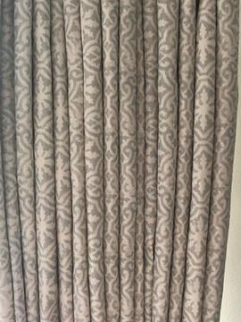 Curtains in Lakshmi Soft Grey