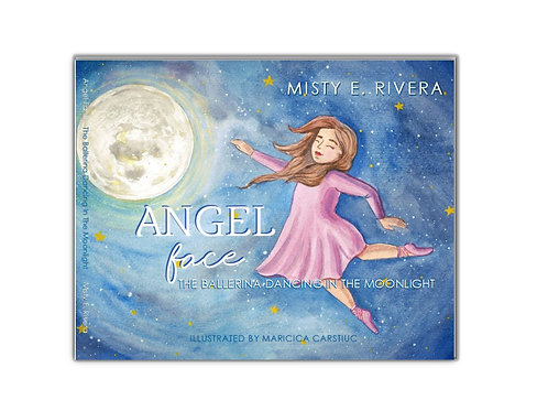 Angel Face Hardcover Book