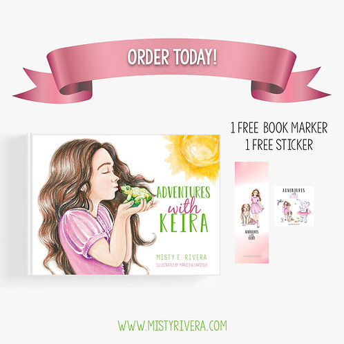 Hardcover Book—Adventures With Keira