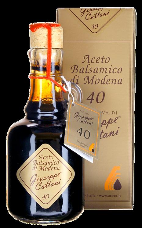 Aceto balsamico di Modena IGP ORO 40 Jahre 250ml