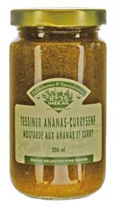 Tessiner Ananas-Currysenf 260g im Glas