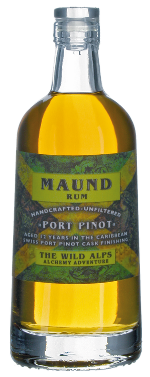 """Rum Maund """"Port Pinot"""" Vintage 2005 12 Jahre"""
